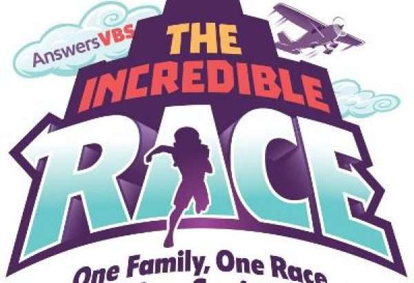 VBS them logo-Incredible Race